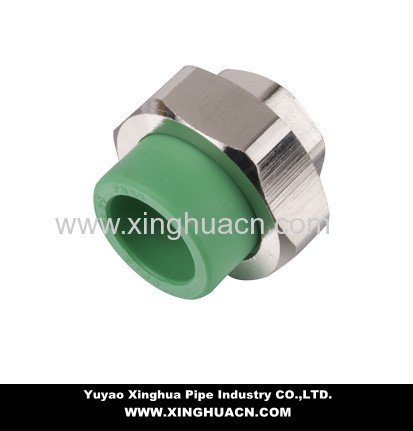 PPR pipe union fittings
