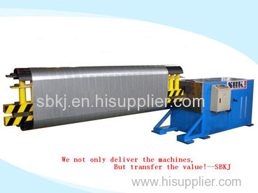 ovalizer tube forming machine