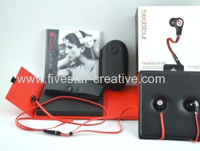 2013 Beats by Dr.Dre Tour Headphones with Control Talk Black High Performance