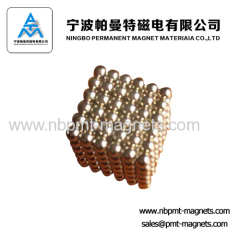 Grade N35-52 Permanent NdFeB Ring Magnets