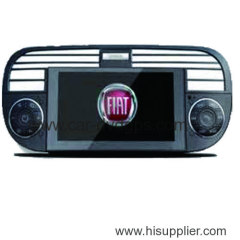 fiat 500 gps dvd 2007-2013 radio tv bt ipod steering wheel control blue&me car usb aux with win8 platform
