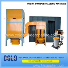 powder coating paint booth