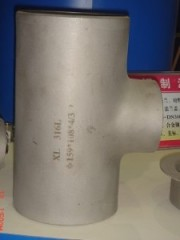 ASTM ASNI 304L 316L Stainless Steel Reducing Tee