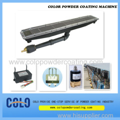 Powder Coating curado en horno quemador