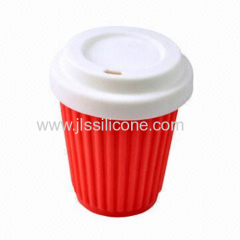 Convenient silicone coffee mug OEM Manufacturer