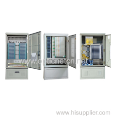 Fiber Optical Cross Connection Cabinets