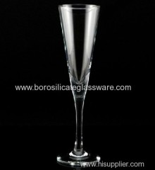 150ml Champagne Glasses Hand Made Borosilicate Glass C&C