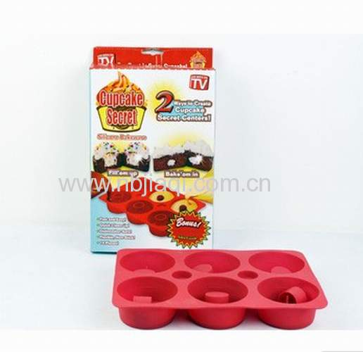 Silicone bakeware & Cupcake Secret /Cupcake Secret