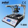 T-890 laptop motherboard bga rework station, smd rework station, infrared rework soldering station,taian,puhui