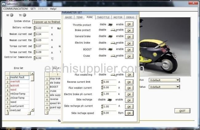 High Power Sine Wave Bldc Motor Controller 72v 150a