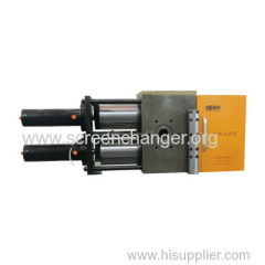 Two chanel continuous screen changer