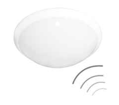 Microwave sensor ceiling lights