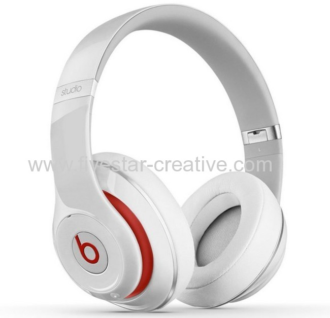 New Beats Studio Noise Canceling Headphones V2 White