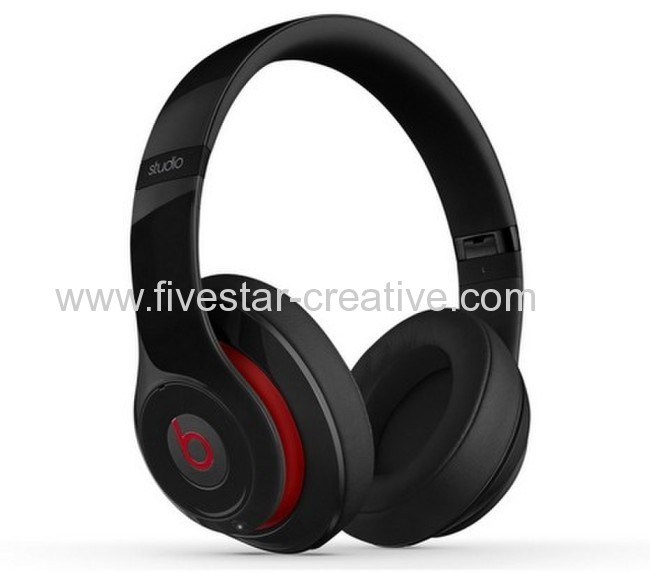Beats by Dr.Dre Studio 2.0 Over-Ear Headphones Black(Second Generation)