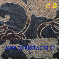 Polyester Chenille Sofa Fabric