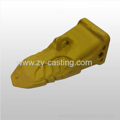 large carbon steel yellow color engineer machinery bucket tooth