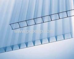 Twin-Wall pc Hollow Sheet