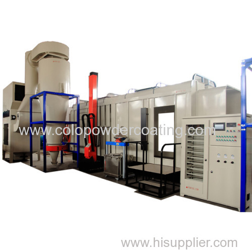 High Quality Powder Coating Line