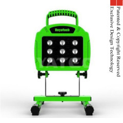 2014 new DY-306 9LED 18W Rechargeable led work light With USB