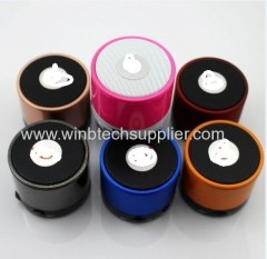 Portable s10 bluetooth speaker circle mini card wireless bluetooth small audio subwoofer hands-free