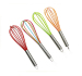 Kitchen Utensil Colorful Silicone Egg Whisk