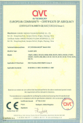 Coaxial Cable CE Certificate