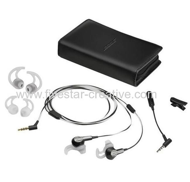 Bose MIE2 Earbud Headphones Black/White