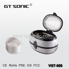 Jewelry watch ultrasonic cleaner