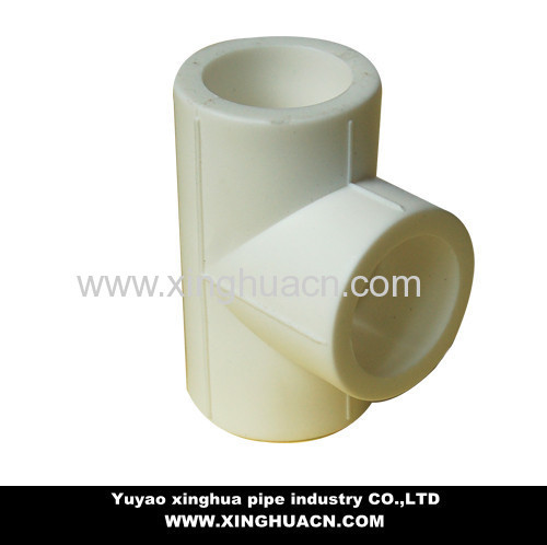 ppr pipe equal tee for water