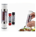 ABS plastic double head salt & pepper grinder mill
