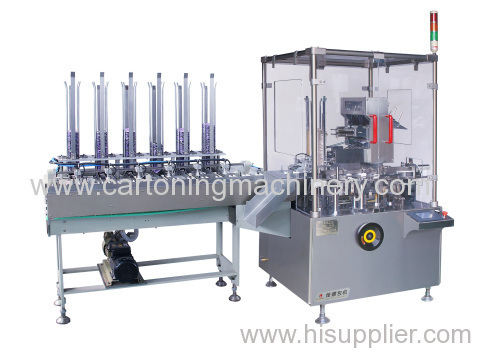 condom cartoning machine condom cartoner