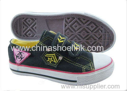 Ctas pro Fashion Children Canvas shoes with vulcanized sole (KY-CCA 1303)