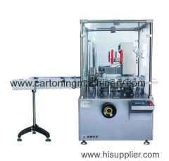 Pouch automatic cartoning machine