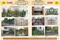 Iron Art Garden Gate