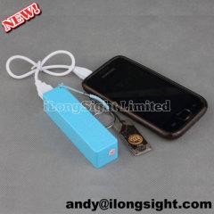 2600mAh A5 Rechargeable Portable Mini Perfumed Power Bank