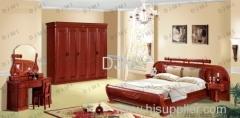 Wooden bedroom furniture design