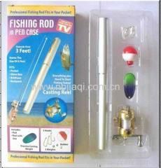 FISHING ROD IN PEN CASE/fishing rod pen model
