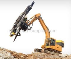 WG90 Excavator attachment drill rig