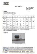 SGS Material Test Report