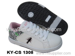 Skateboard Sneaker Shoe Flat Neoprene Sole