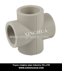 ppr pipe plastic cross