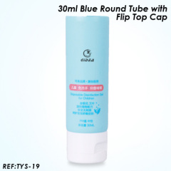 cosmetic plastic tube packing