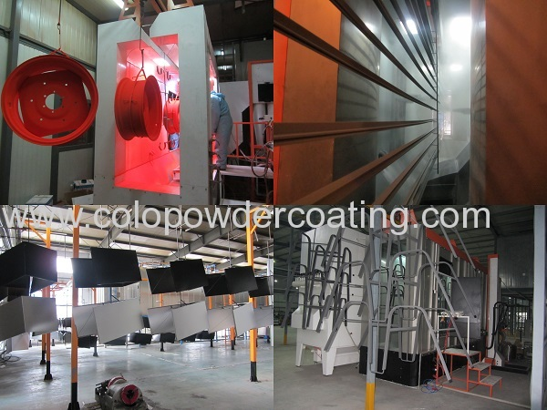 high quality powder coat curing oven