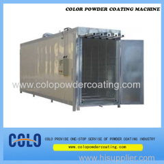 industrial powder coating oven approved CE ISO9001