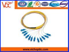SC/PC 0.9 multimode fiber optic pigtail