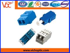 LC multimode simplex/duplex/multiplex fiber optic adapter