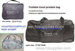 Folding travel strage bag , protable travel bag