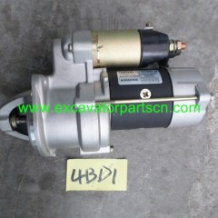 4BD1 STARTING MOTOR FOR EXCAVATOR