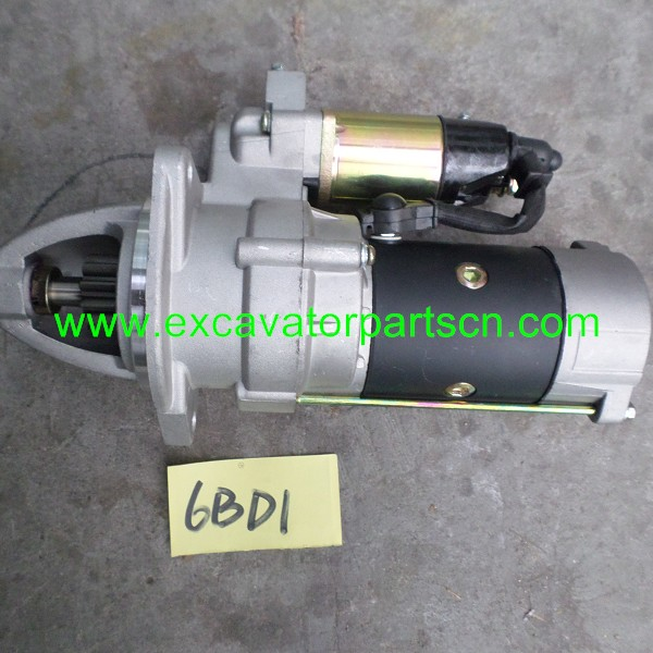 6BD1 SARTING MOTOR FOR EXCAVATOR