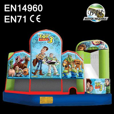 TOY 3 Castle Inflatable Slide